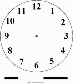 Blank Clockface: Without Hands.