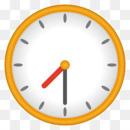 Clock Emoji PNG and Clock Emoji Transparent Clipart Free.