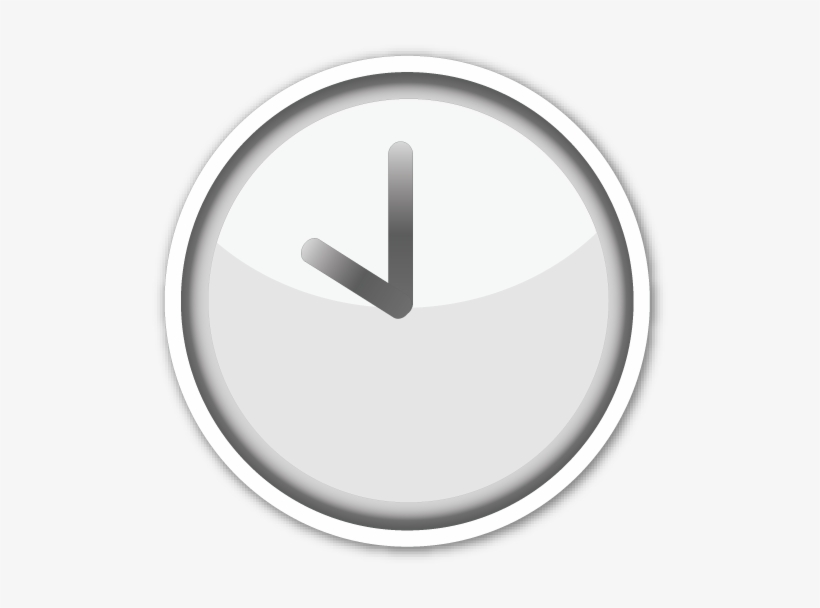Clipart clock emoji, Clipart clock emoji Transparent FREE.