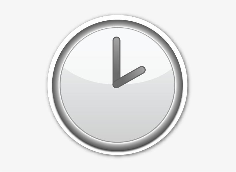 Clock Face Two O'clock Four O Clock, Emoji Stickers,.