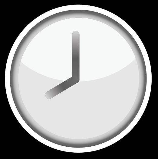 Clock Emoji Png Vector, Clipart, PSD.