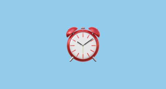 ⏰ Alarm Clock Emoji.