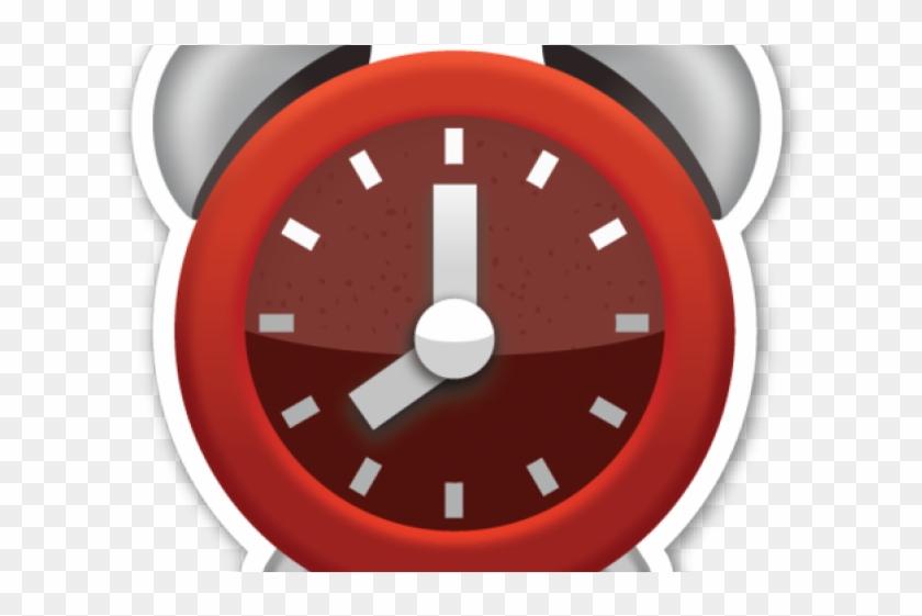 Alarm Clock Emoji Png, Transparent Png.