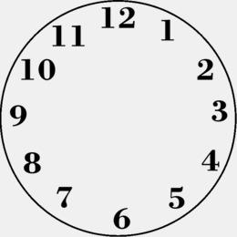 Download clock face template clipart Clock face Clip art.