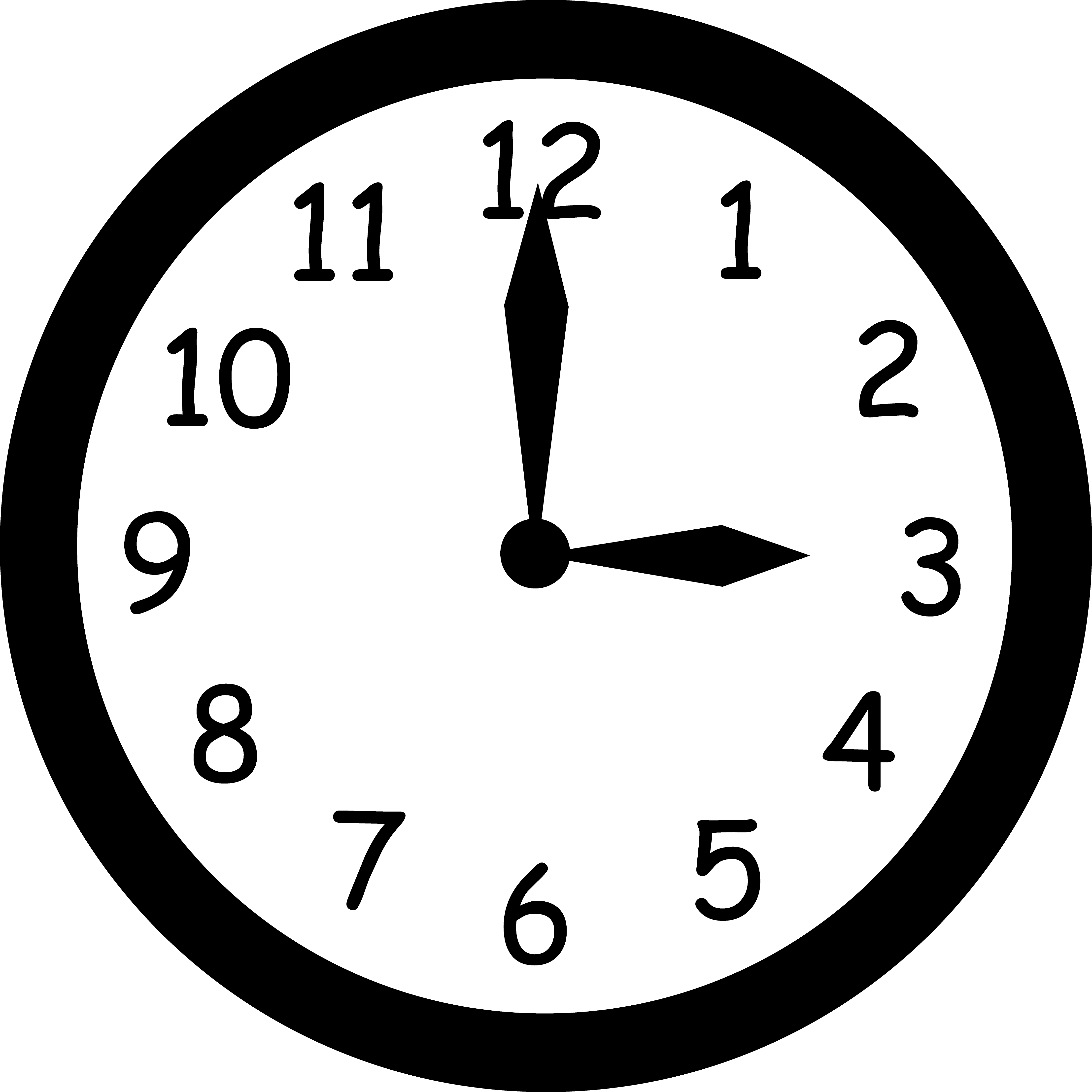 Free Blank Clock Face Printable, Download Free Clip Art.