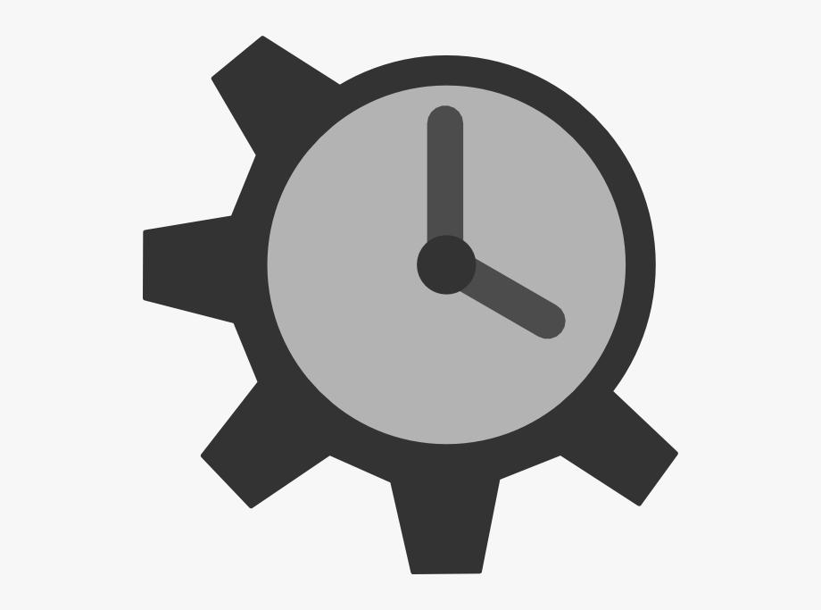 Clock Gear Clip Art At Clker.