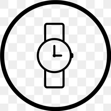 Vector Watch Icon, Clock, Time, Watch PNG Transparent.