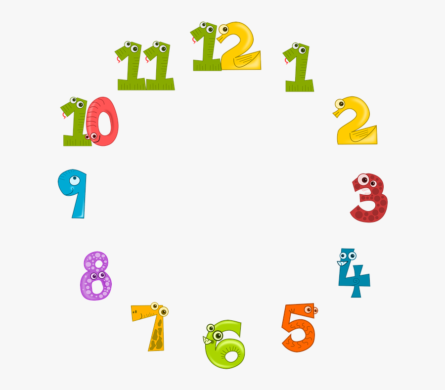 Clock Face, Clock, Dial, Time, Animals, Colorful.