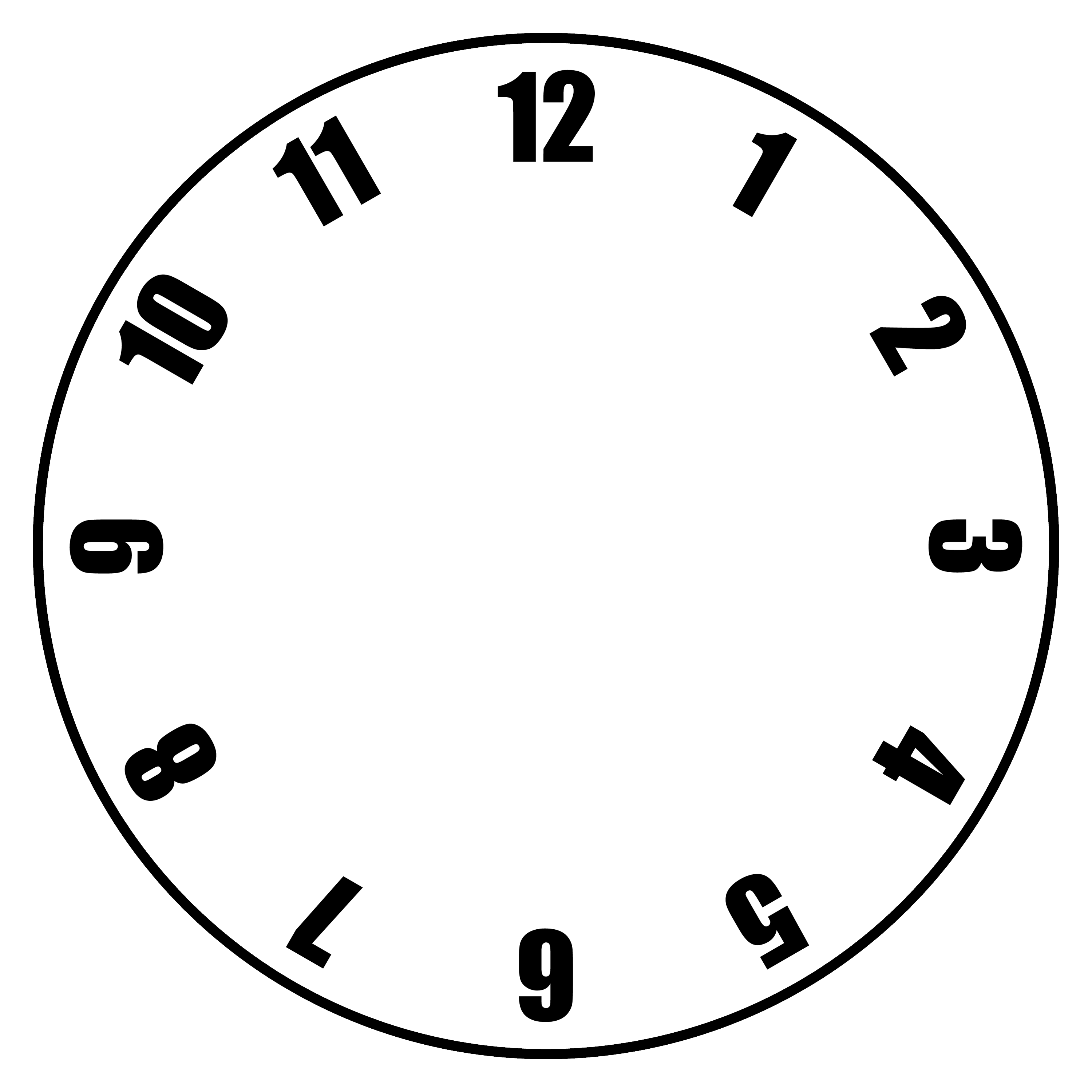 Clocks clipart number, Clocks number Transparent FREE for.