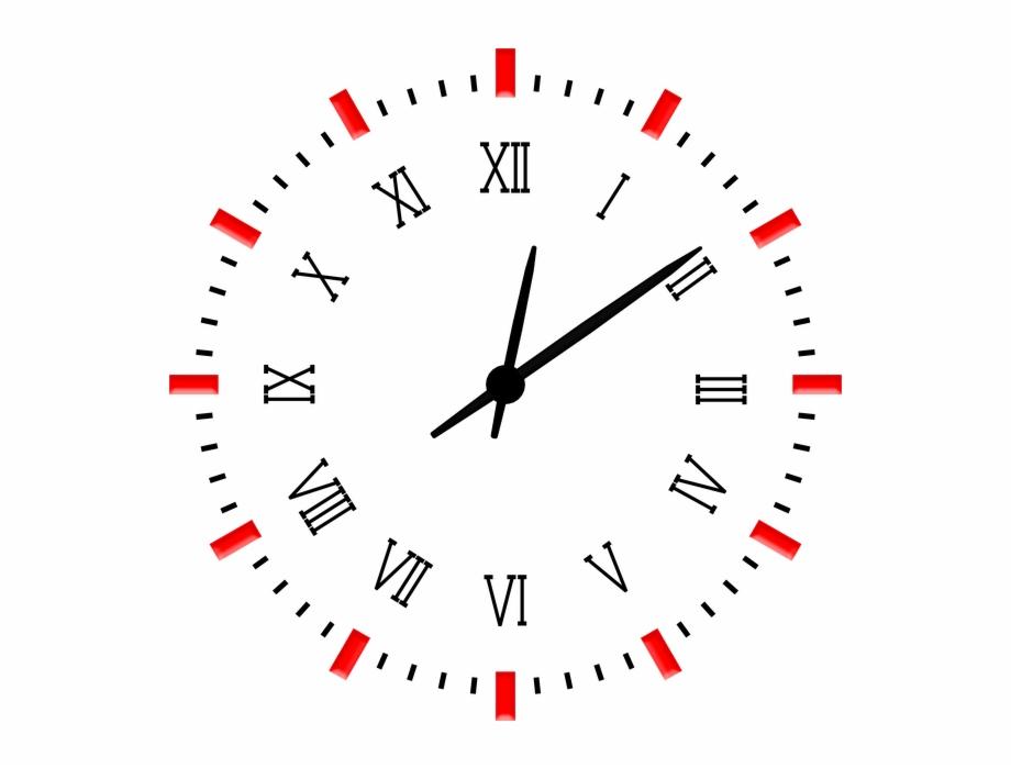 Clock Sticker.