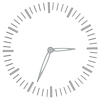 elegant clock.