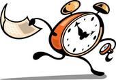 Clipart Clock Running.