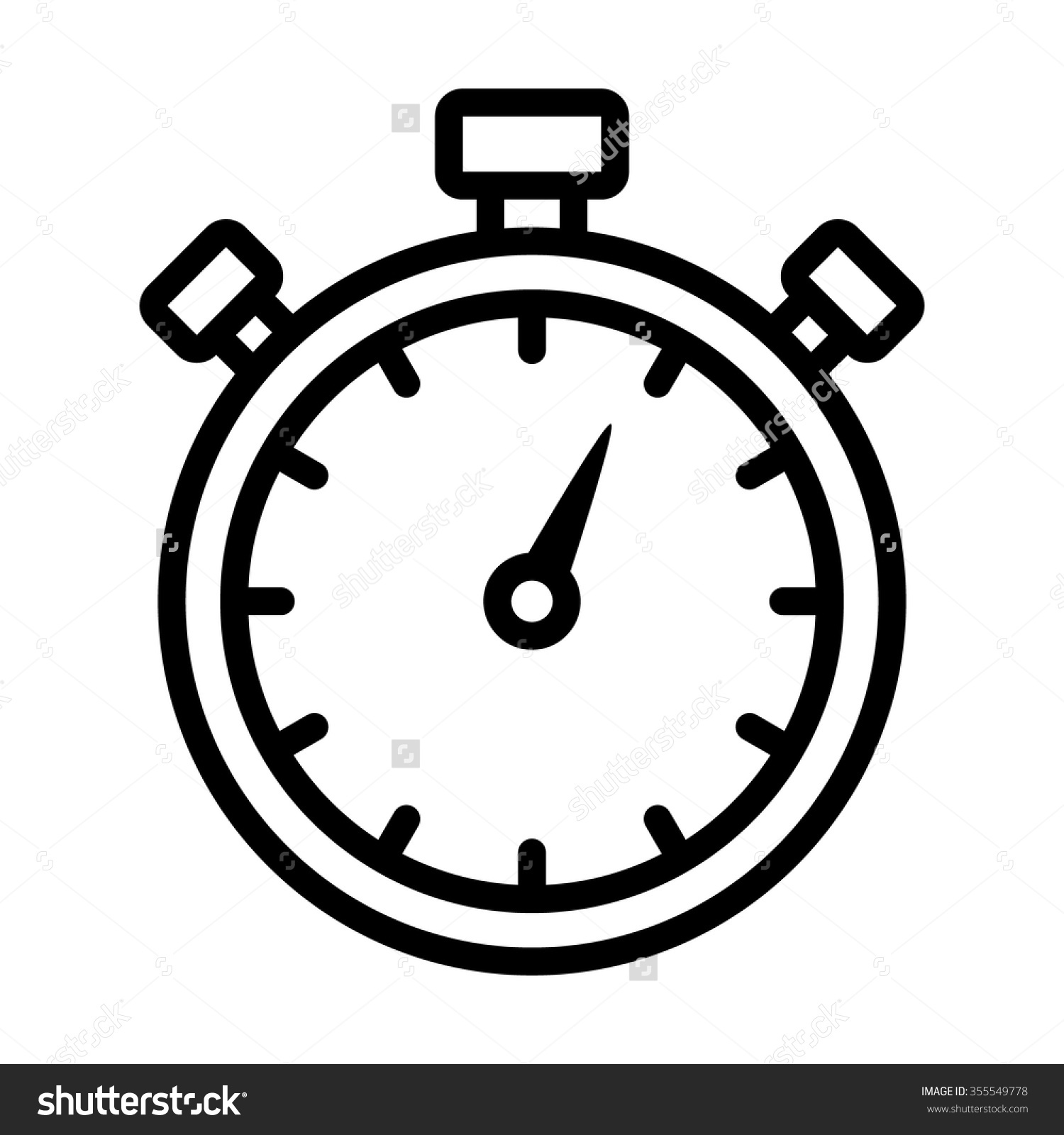 clock timer clipart