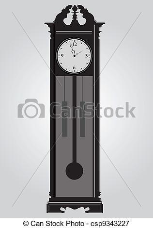 Vectors Illustration of Clock..