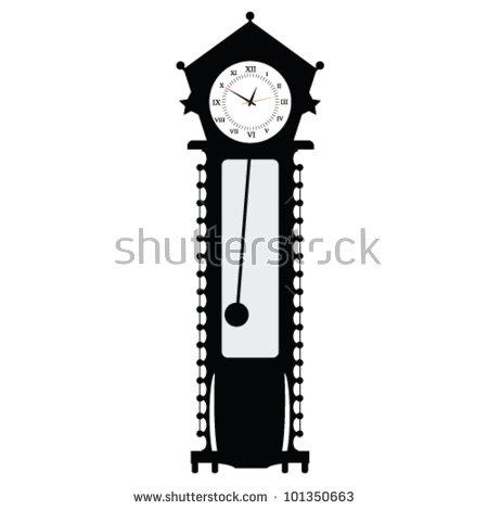 Grandfather Clock Stock Photos, Royalty.