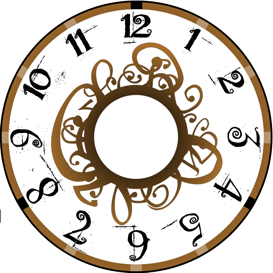 Clock With No Hands Clipart Clipground