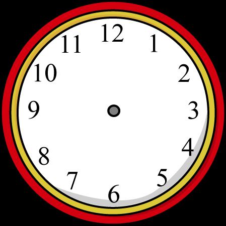 Clock Clipart No Hands.