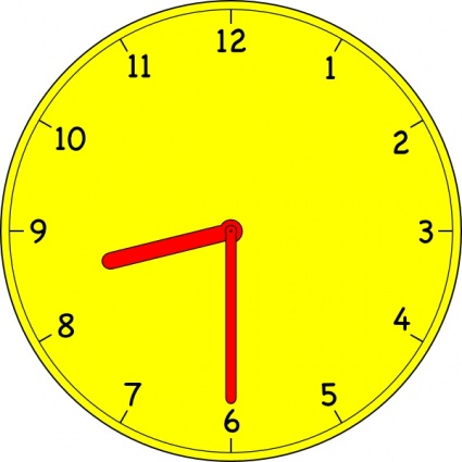 School clocks clipart.