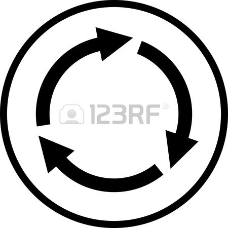 3,239 Clockwise Stock Vector Illustration And Royalty Free.