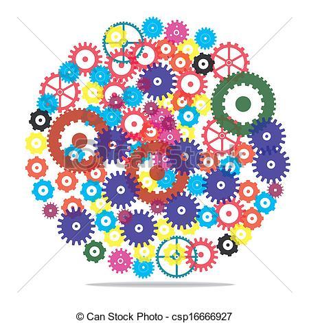 Clockwork Vector Clipart Royalty Free. 3,300 Clockwork clip art.