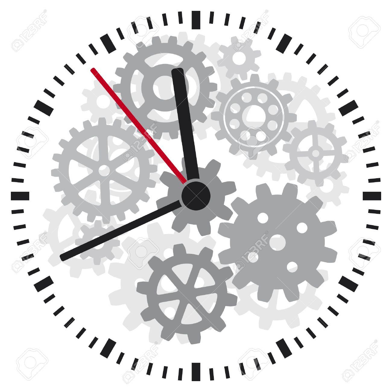 Clock Timer, Clockwork Royalty Free Cliparts, Vectors, And Stock.