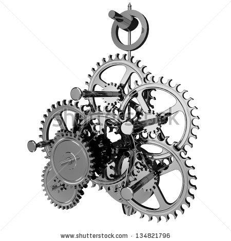 Clockwork Mechanism Stock Photos, Royalty.