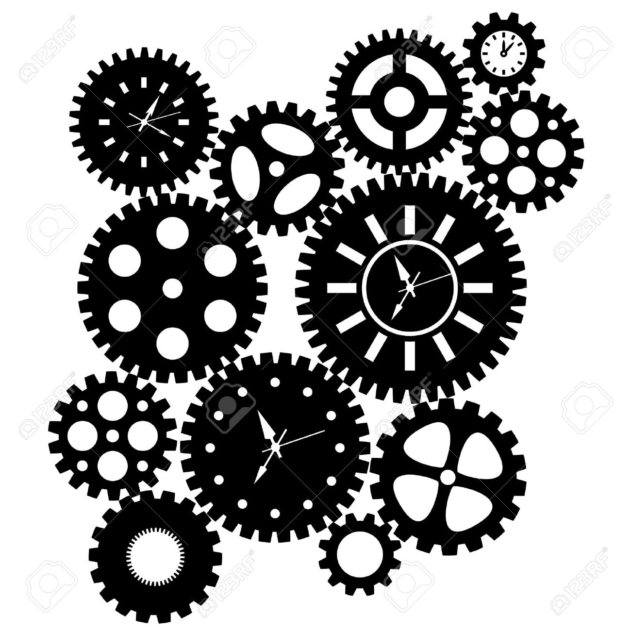 Mechanism clipart.