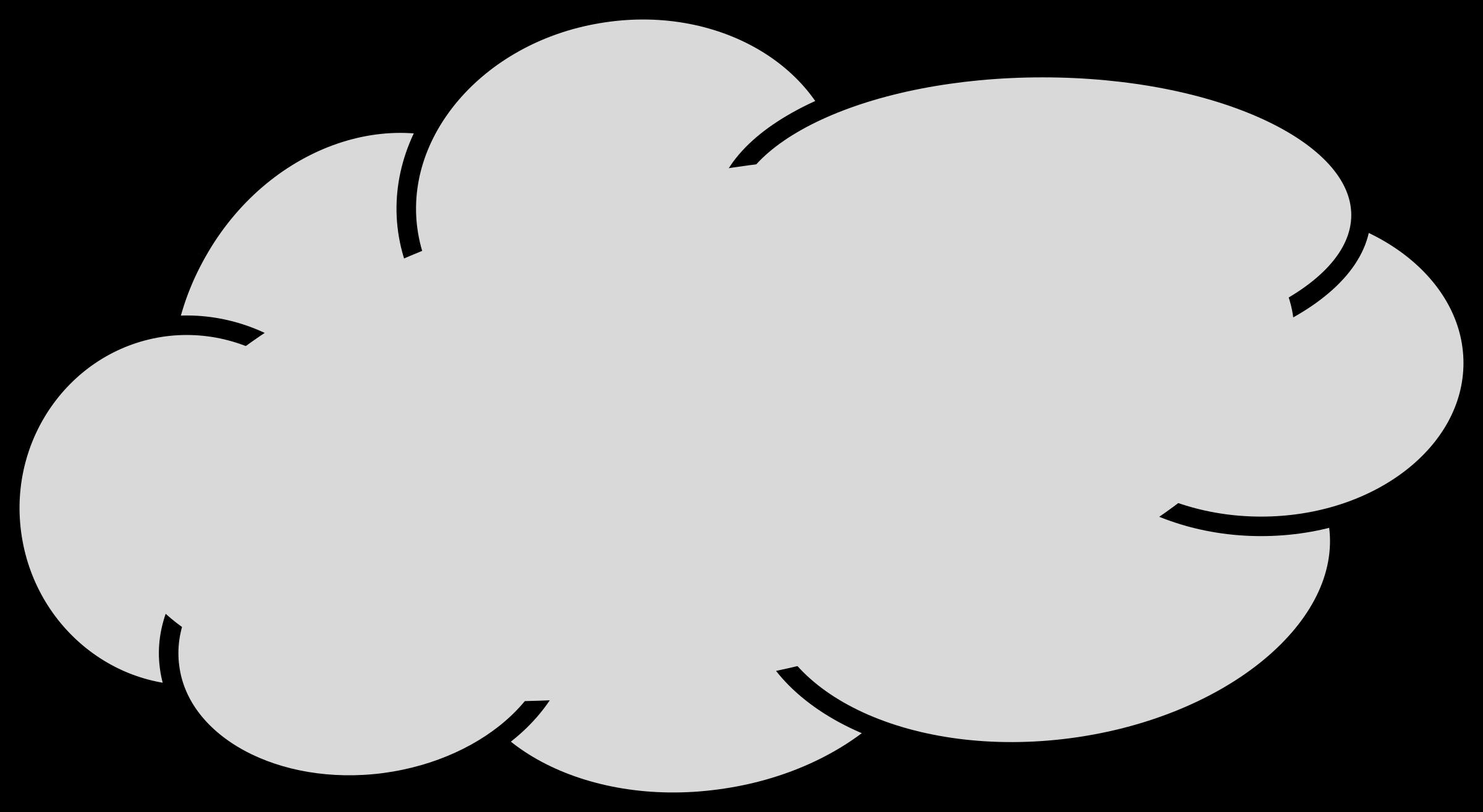 Cloud clip art 4.