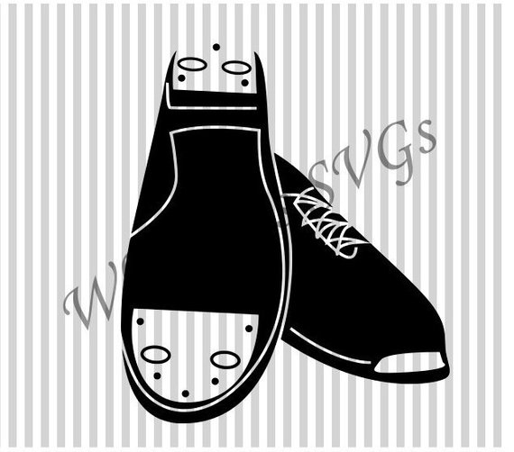 Clogging Shoe SVG DXF Cutting File.