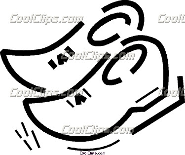Wooden Shoes Free Clipart.