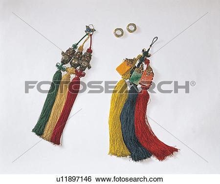 Stock Images of tassel, trinkets, object, items, decoration.
