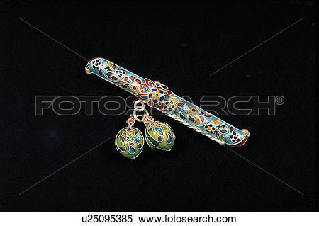 Stock Image of ornaments, knife, trinket, pattern, self.