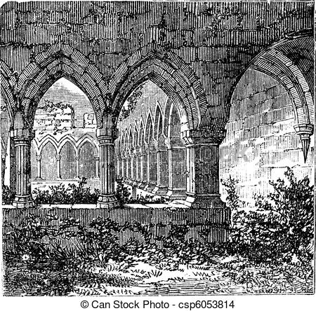 Cloister Illustrations and Clipart. 154 Cloister royalty free.