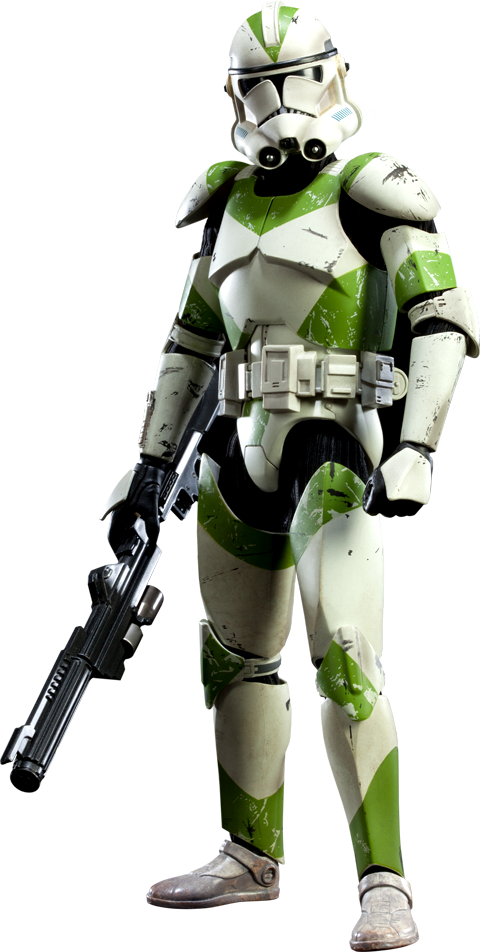 Star Wars 442nd Siege Battalion Clone Trooper Sixth Scale Figure by  Sideshow Collectibles.