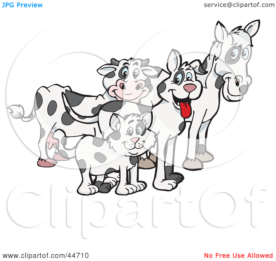 Cloned clipart #12