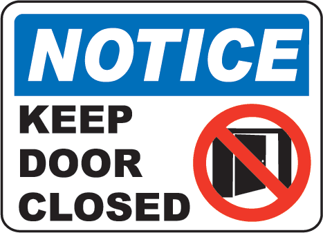 Image of Closed Door Clipart #7304 Closed Sign On Door Notice.  sc 1 st  ClipGround & close door clipart - Clipground pezcame.com