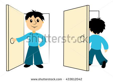 Close Door Stock Images, Royalty.