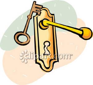 Door Handle Opening Clipart.