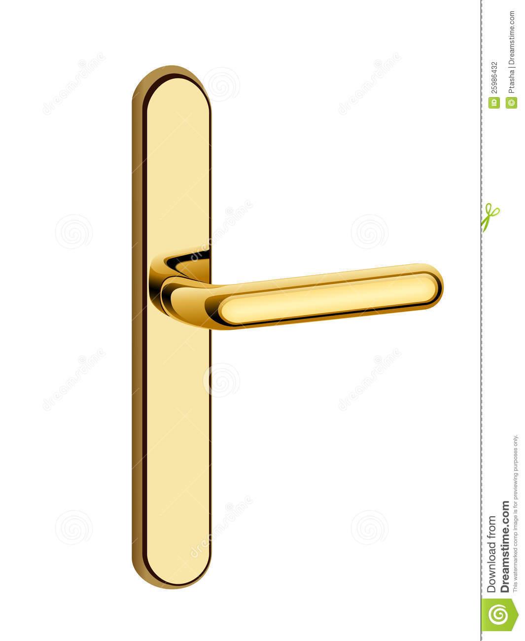 Close door handle clipart #6