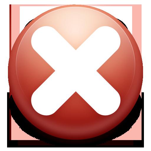 Red Circle, close icon #13576.