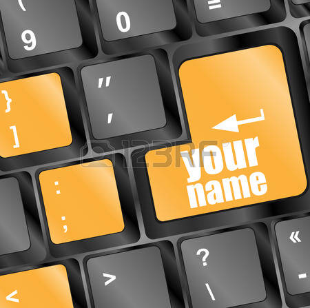 669 Your Name Stock Vector Illustration And Royalty Free Your Name.