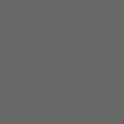 Dim gray close window icon.