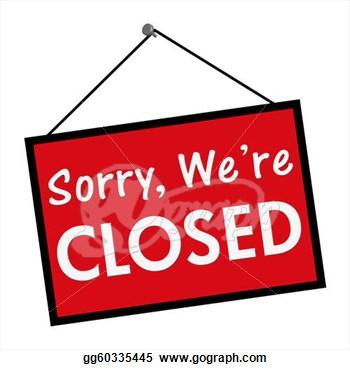 Clip Art Closed Store Clipart.