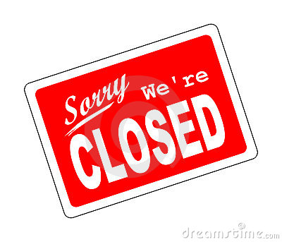 Closed Clipart.