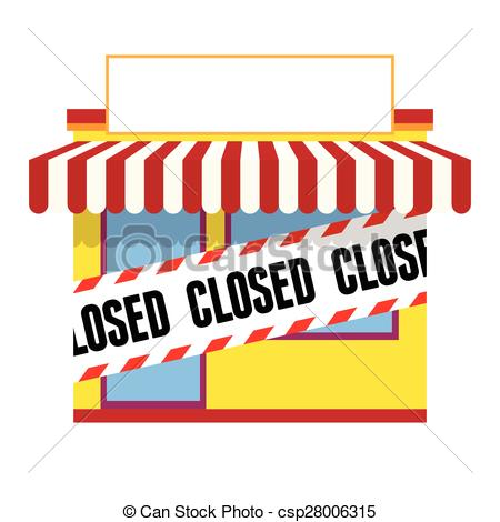 Store closing clipart.