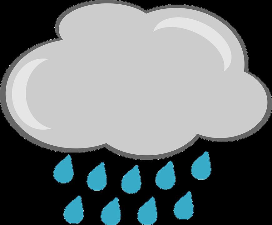 Free illustration: Rain, Cloud, Weather, Graphics.