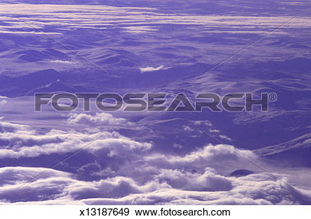 Stock Photograph of cloud cover x13187649.