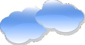 Cloud clip arts.