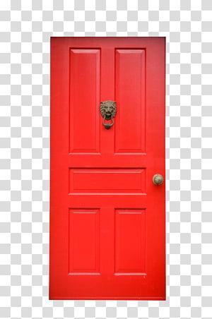 Doors s, closed purple wooden door transparent background PNG.