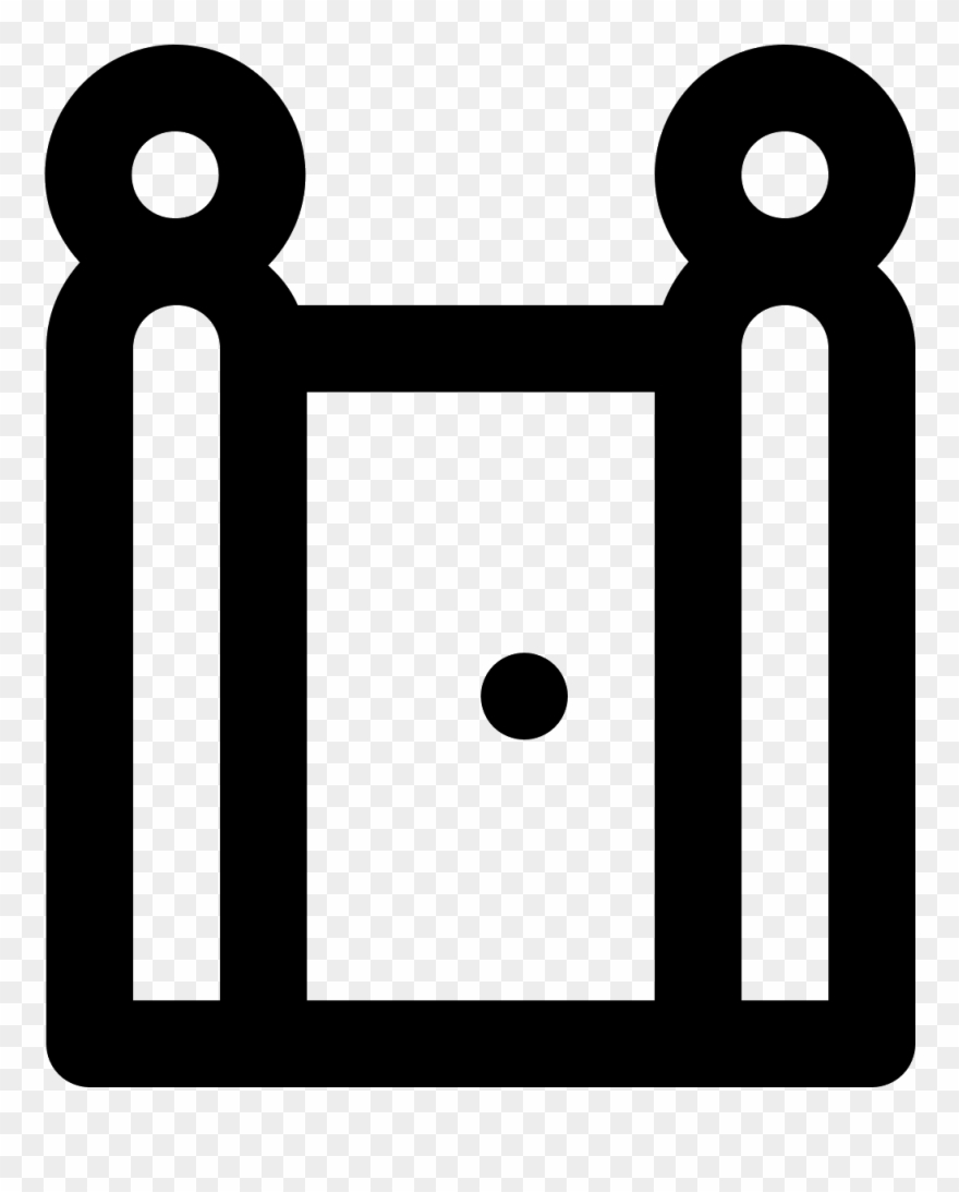 Closed Door Png Icon.